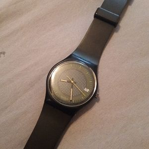 Vintage 85 swatch watch Jaegermeister GB404